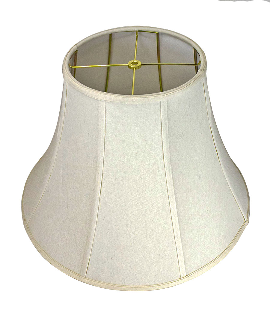 Home concept lamp shades sears home concept 10x20x15 collapsible premium linen bell lampshade light oatmeal mozeypictures Gallery