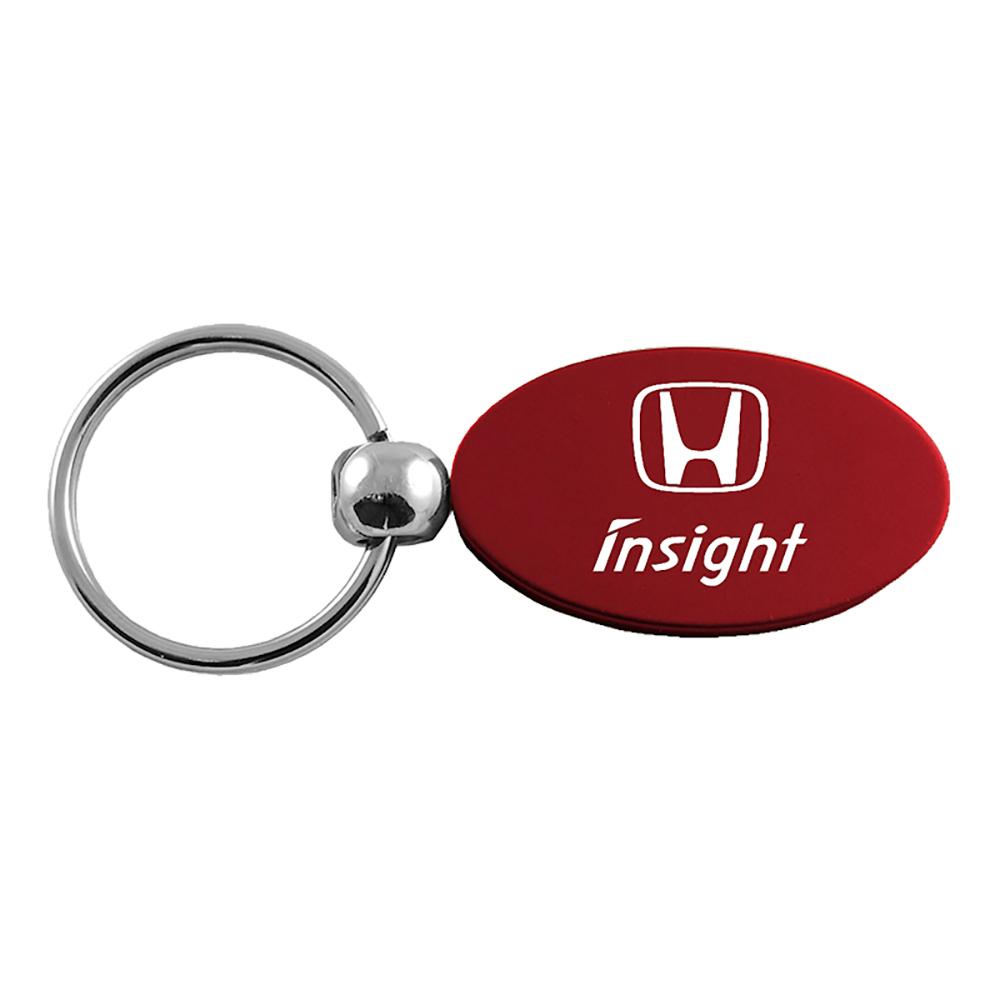Keychain /& Keyring with Honda Insight Logo Valet